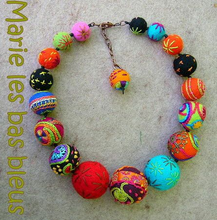 Lovely. Perfect. Felt. Beads.