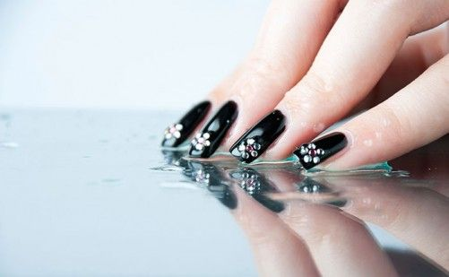 Nail Art For Beginners - Water Drops Nail Art