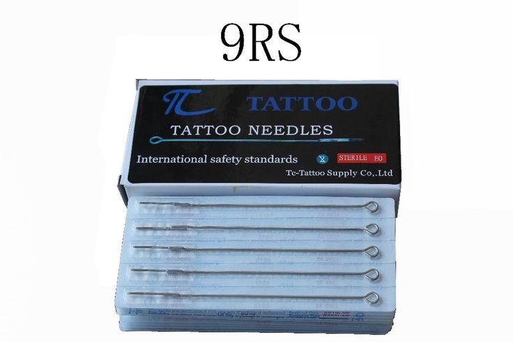 ТК Татуировки 9RS иглы татуировки 50 шт./лот бесплатная доставка stianless стали иглы медицинские татуировки иглы