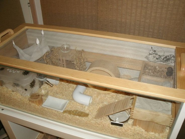 How to make an Ikea bookcase home for your hamster! Step-by-step instructions