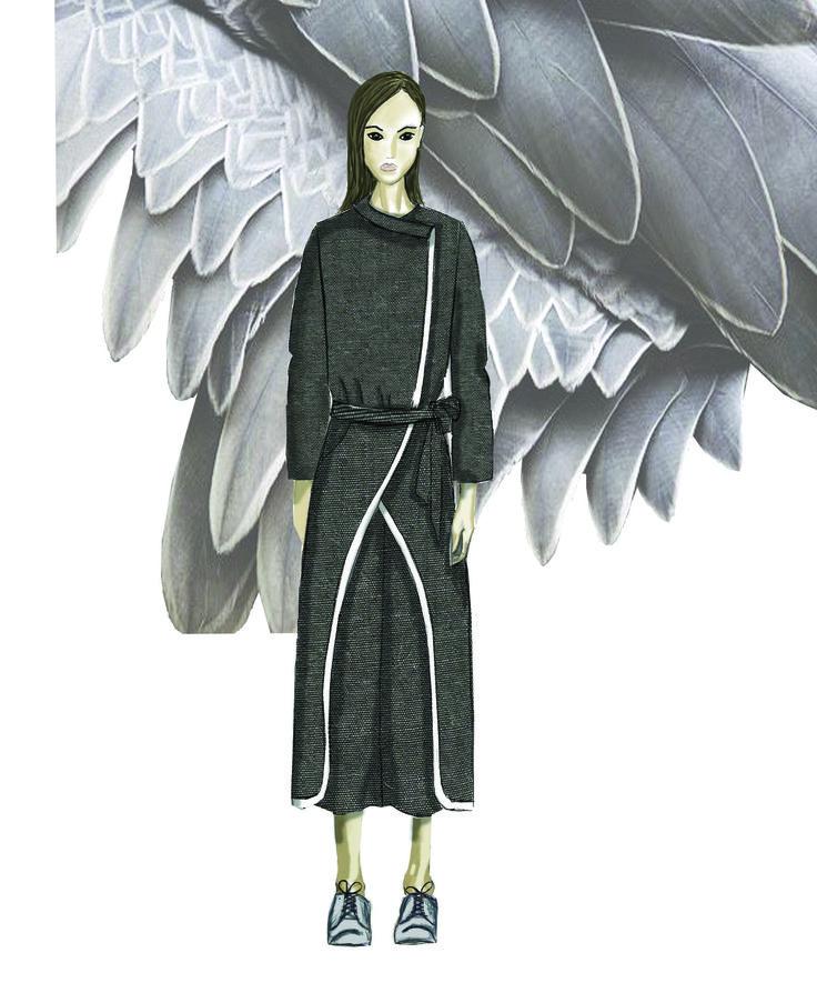 #mskpu,#fashionilustration, #fashiondrawing, #MagdalenaPopiel