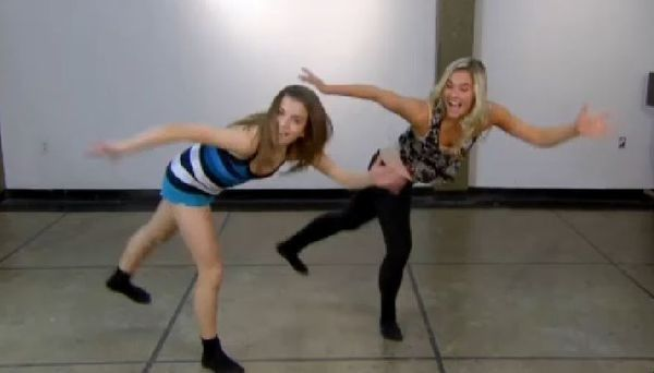 Brittany and Victoria