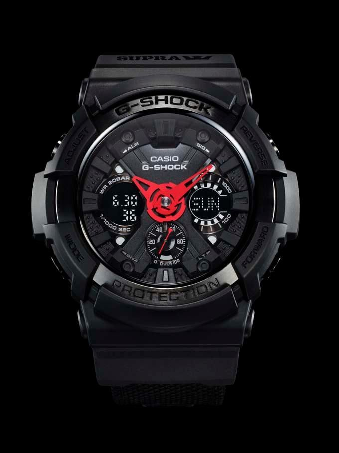 G-Shock x Supra Vaider Collaboration