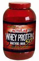 ActivLab Whey Protein 50 Machine-Man to białko dla sportowców. Proteiny są bardzo ważnym elementem diety sportowca. Jeśli sportowiec nie może dostarczyć odpowiedniej ilości białka z pożywienia powinien wspomagać dietę odżywkami białkowymi.