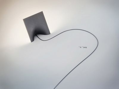 High Quality N Lamp Is A Unique Lamp Concept By Russian Based Industrial Designer Katherine  Semenko. Tiny Image But What A Great Title Page This Would Make. Awesome Ideas