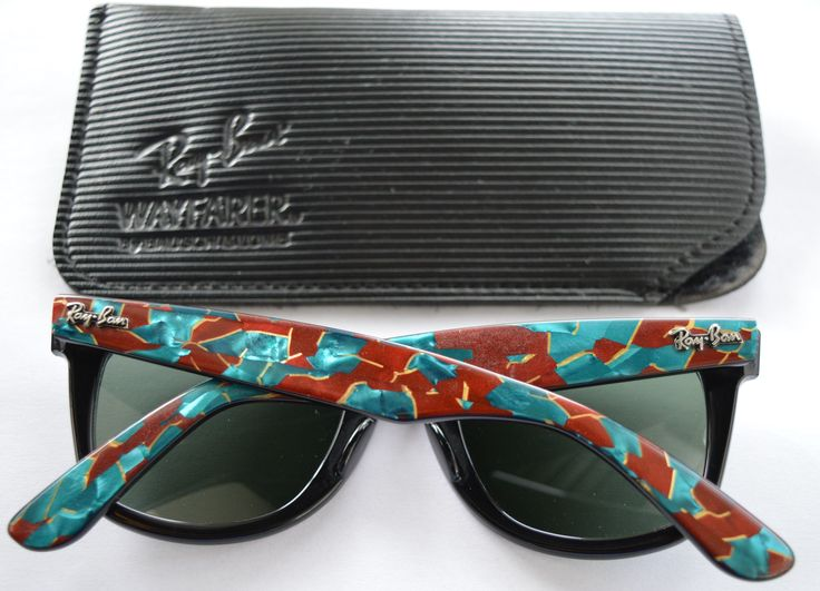 Ray Ban sunglasses wayfarer Street Neat Green Mosaic