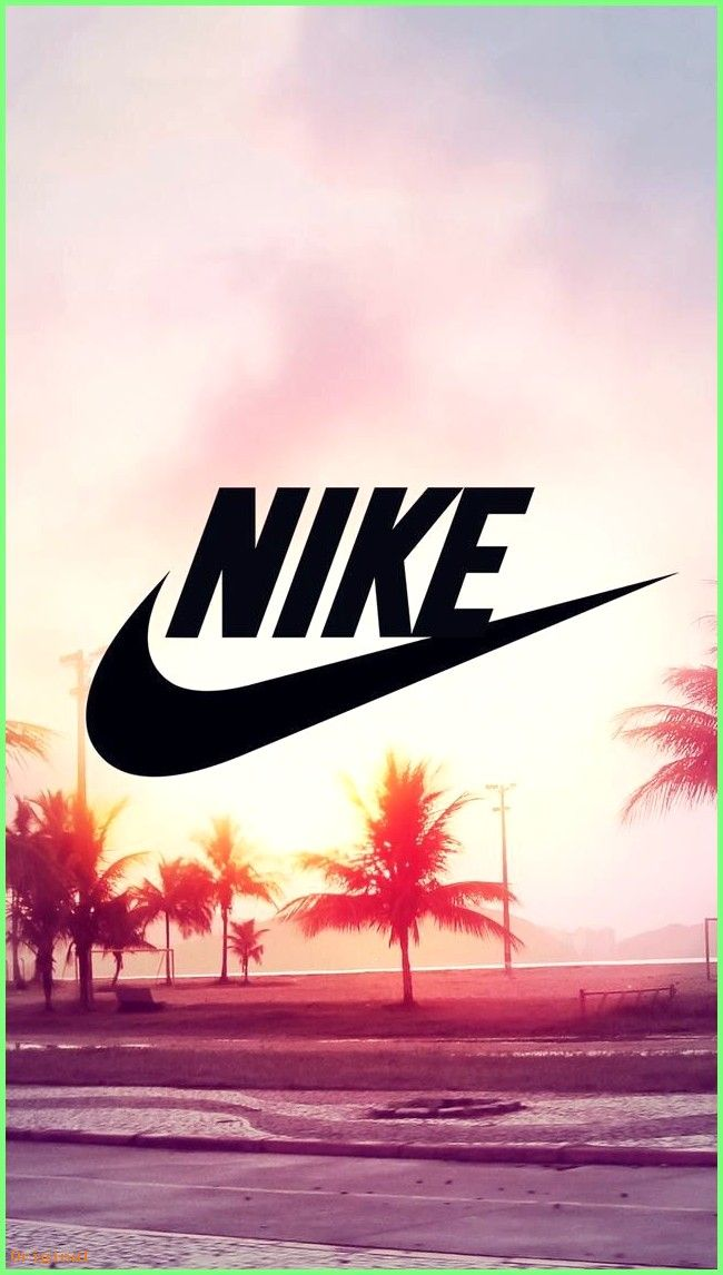 Wallpaper Nike Palmier Soleil Wallpaperpc