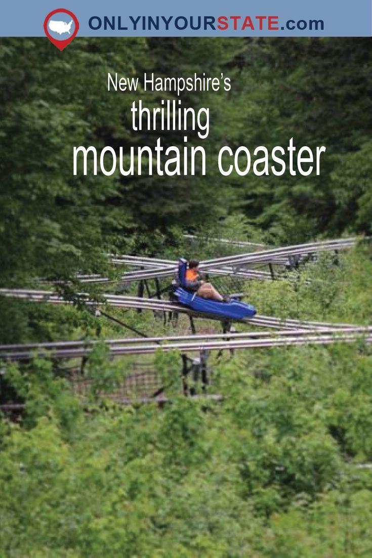Travel   New Hampshire   USA   Mountain Coaster   Alpine Coaster   Outdoor Activities   Roller Coasters   Unique Attractions   Bucket List