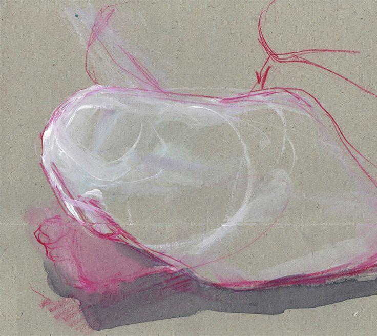 """Przejrzyj mój projekt w @Behance: """"Sketches of Karolina.""""…"""