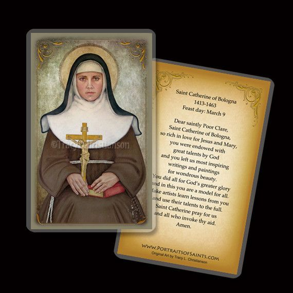 st catherine of bologna biography of donald