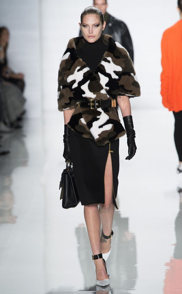 michael Kors fashion outfits | Military from New York Fashion Week Fall 2013: Trends We Love | E ...