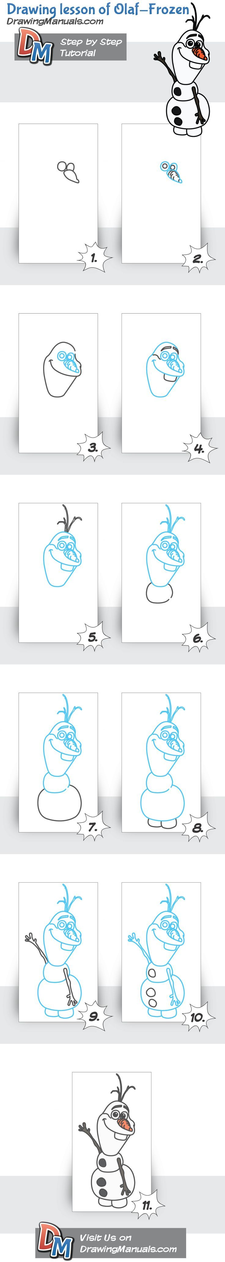How to draw a coyote step 2 apps directories - Drawing Steps Of Olaf From Frozen