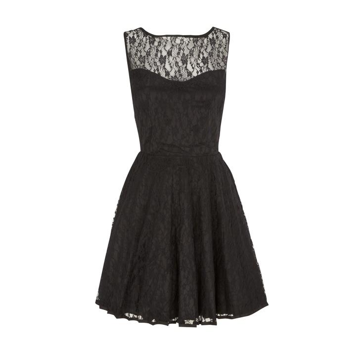 glamorous kleid mit verstaerktem saum modestil kleider