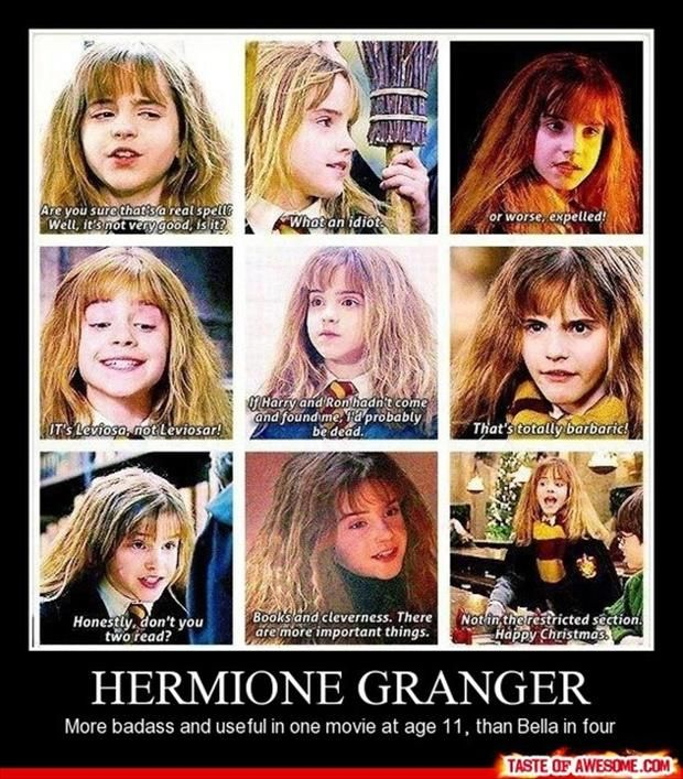Hermione Granger, funny demotivational posters