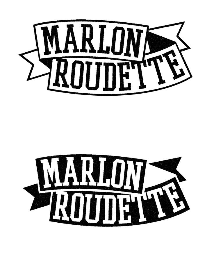 Marlon Roudette Artist Logo.
