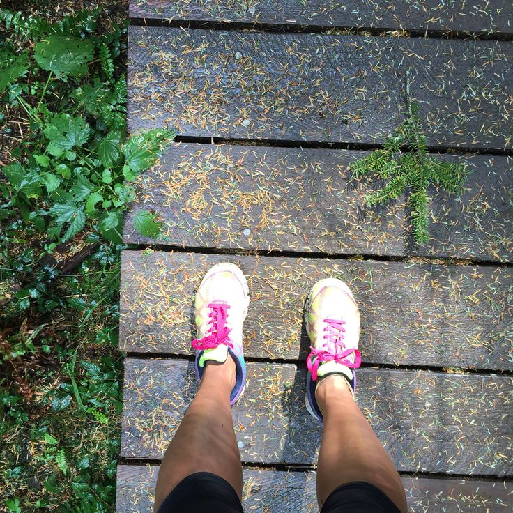 It's autumn already on Orcas Island trails. #run