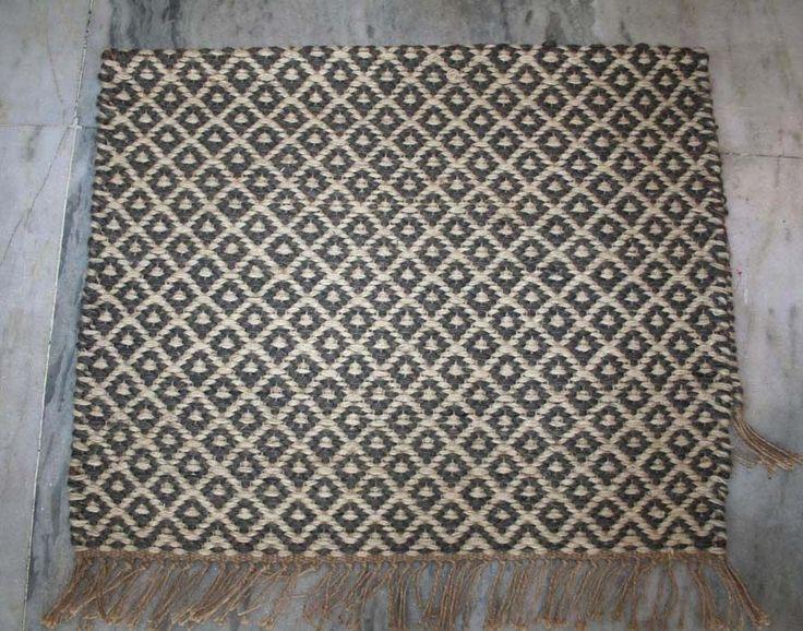 jute Door Mat Kilim Rug Floor Rug Floor Mat Kilim Mat Vintage Kilim Mat 2x3 Feet #Turkish