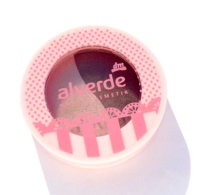 Alverde Duo oční stíny Sugared Berries (20)