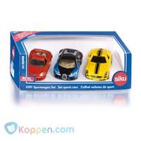 SIKU Sportwagen set -  Koppen.com