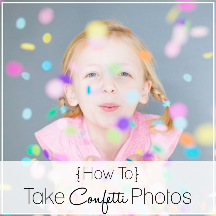 Step by step, how to capture beautiful confetti photos, with behind the scenes detail!  Read the tutorial here: http://clicklovegrow.com/try-this-confetti-photos/