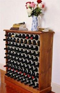 Transformer un meuble en cave à vin, très bonne idée... ...