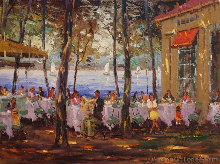 """Cafe"" by Mostafa Keyhani"