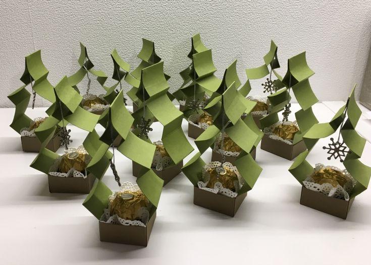 Weihnachtsbaum-Goodie mit Anleitung – kreativ-dsch…