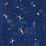 Just keep swimming  ilustra por JoanneHo ilustracao illustration swim nadar followthecolours pattern estampas blue