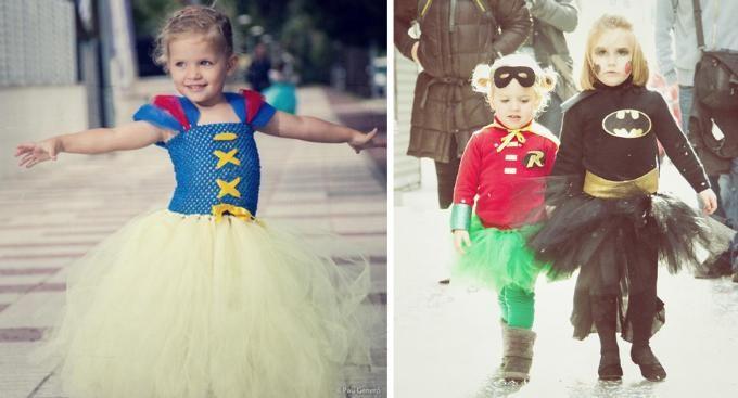 Disfraces de carnaval para niños y bebés