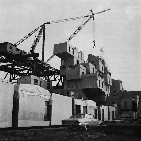 Moshe Safdie_Habitat'67