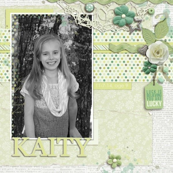 Layout by CT Lisa with My Lucky Stars - Click on image to see the kits and bundle.