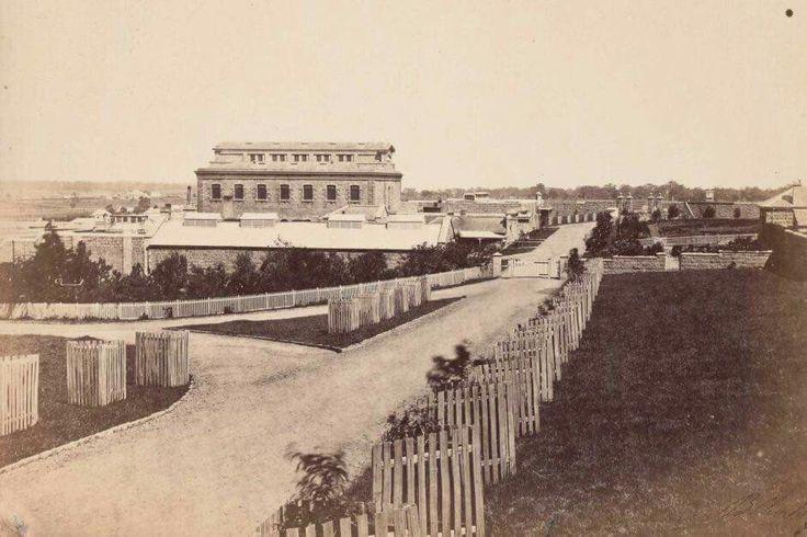 Melbourne's Pentridge Prison in  1860.