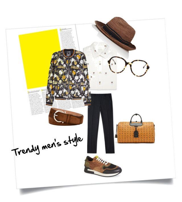 """Trendy men's style"" by poletaeva-anna on Polyvore featuring Paul Smith, Kaminski XY, Steven Alan, Dolce&Gabbana, Givenchy, MCM, Salvatore Ferragamo, men's fashion и menswear"