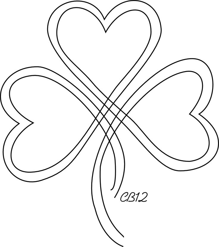 Shamrock Outline Tattoo | www.imgkid.com - The Image Kid ...