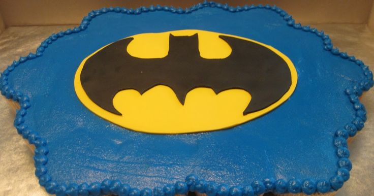 A Piece of Cake: Batman Cupcake Cake
