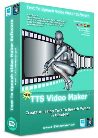 TTS video maker review - the greatest software to create high quality videos with real human voices images captions music in minutes