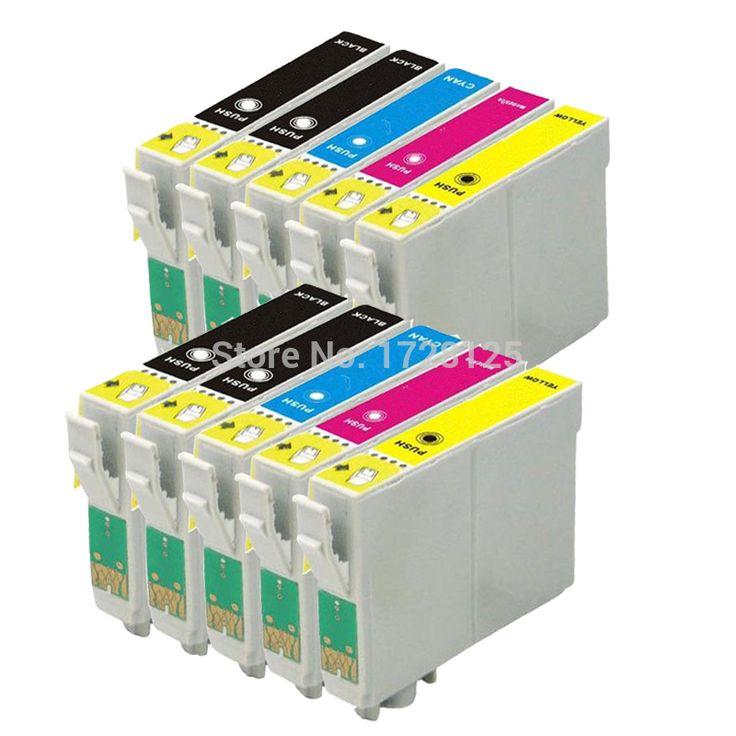 10x T0891/T0711 T0715 XL compatible ink cartridge for EPSON Stylus SX100 SX105 DX 4000 DX 4050 BX300F BX600FW printer