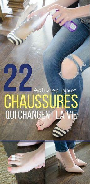 Voici 22 astuces pour chaussures qui vont radicalement vous changer la vie !