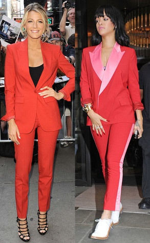 Bitch Stole My Suit: Blake Lively vs. Rihanna: Fashion Faces Off, Fashion Guide, Better, Fashion Police