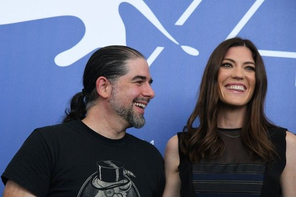 "S. Craig Zahler Photos Photos - Director S. Craig Zahler and actress Jennifer Carpenter attend the photocall of the movie ""Brawl In Cell Block 99"" presented out of competition at the 74th Venice Film Festival on September 2, 2017 at Venice Lido.  / AFP PHOTO / Tiziana FABI - 'Brawl in Cell Block 99' Photocall - 74th Venice Film Festival"