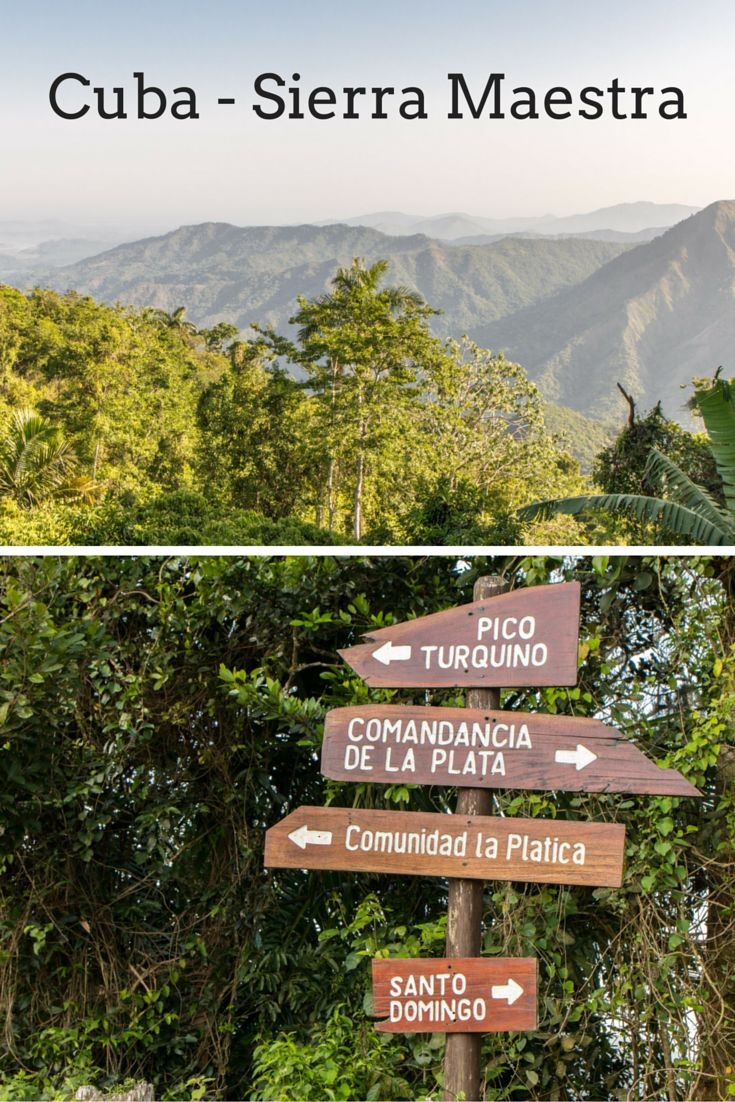 Follow the footsteps of Fidel Castro and the Revolution by hiking to Comandancia de La Plata trail in the Sierra Maestra, Cuba. http://breathewithus.com/sierra-maestra-in-the-footsteps-of-fidel/. #Cuba #Nature