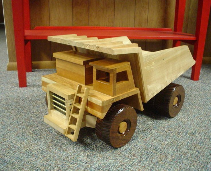 Free wooden toy dump truck plans woodworking projects for Toy plans