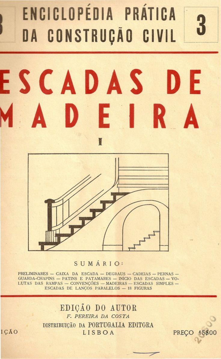 escadas de madeira na construção civil