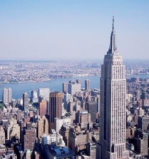 Empire State Building - Iconic, art deco office tower from 1931 with exhibits & observatories on the 86th & 102nd floors. Address: 350 5th Ave, New York, NY 10118, United States http://www.triphobo.com/empire-state-building-new-york-city-united-states