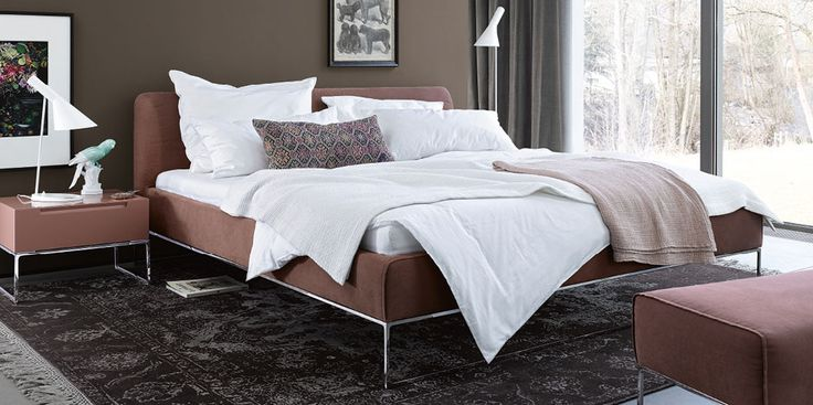 Double beds: Bed Mell by Interlübke