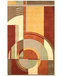 Perfect For Longhorns Kas Signature 9134 Art Deco Area