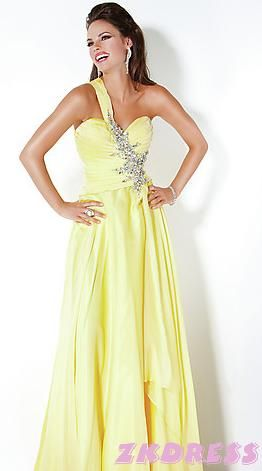 1000  images about dresses on Pinterest  Yellow gown Prom and ...