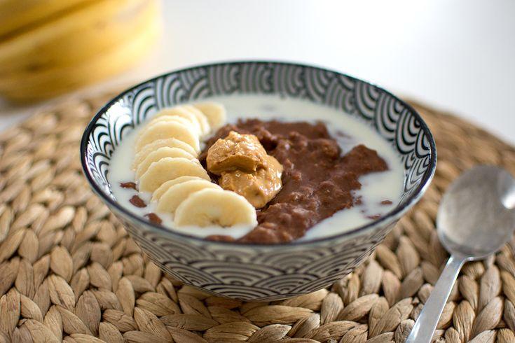 Chokladgröt med jordnötssmör | Middagstips & enkla recept på vardagsmat