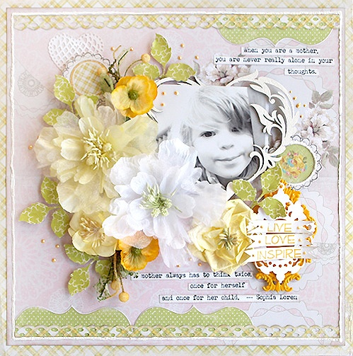 Layout: {Live Love Inspire} *Manor House Creations *