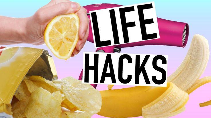 10 Weird Life Hacks EVERYONE Needs To Know! FOOD HACKS!